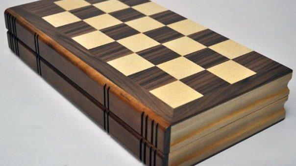 Складная шахматная доска